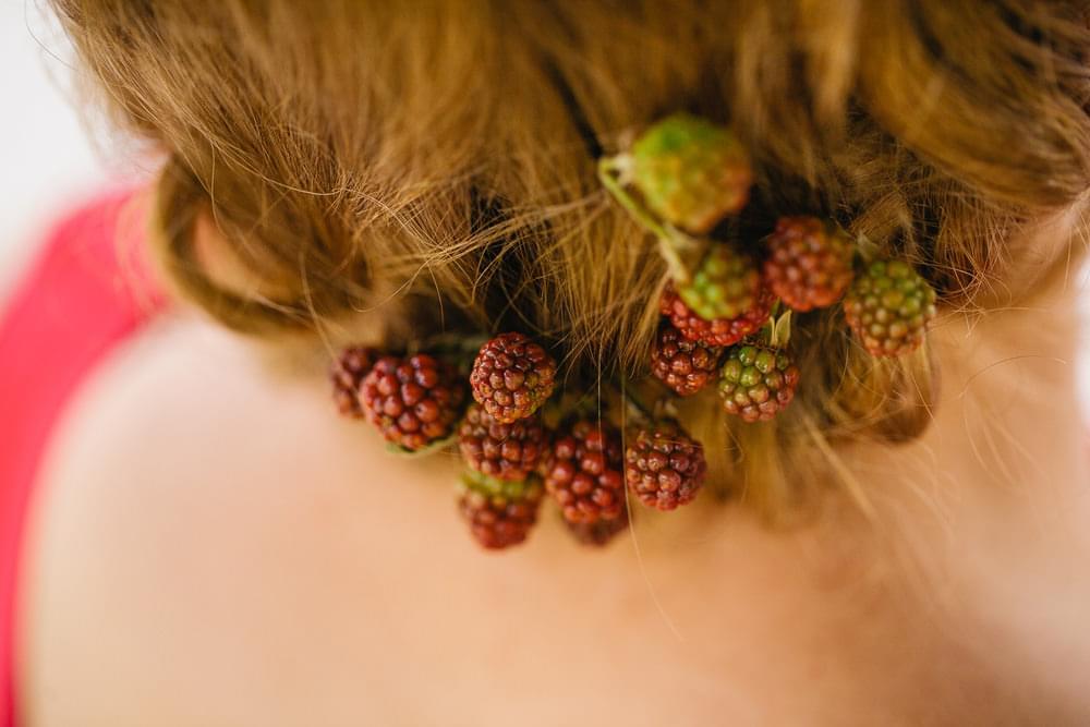 kwiaty & miut zdjecie fryzura panna mloda