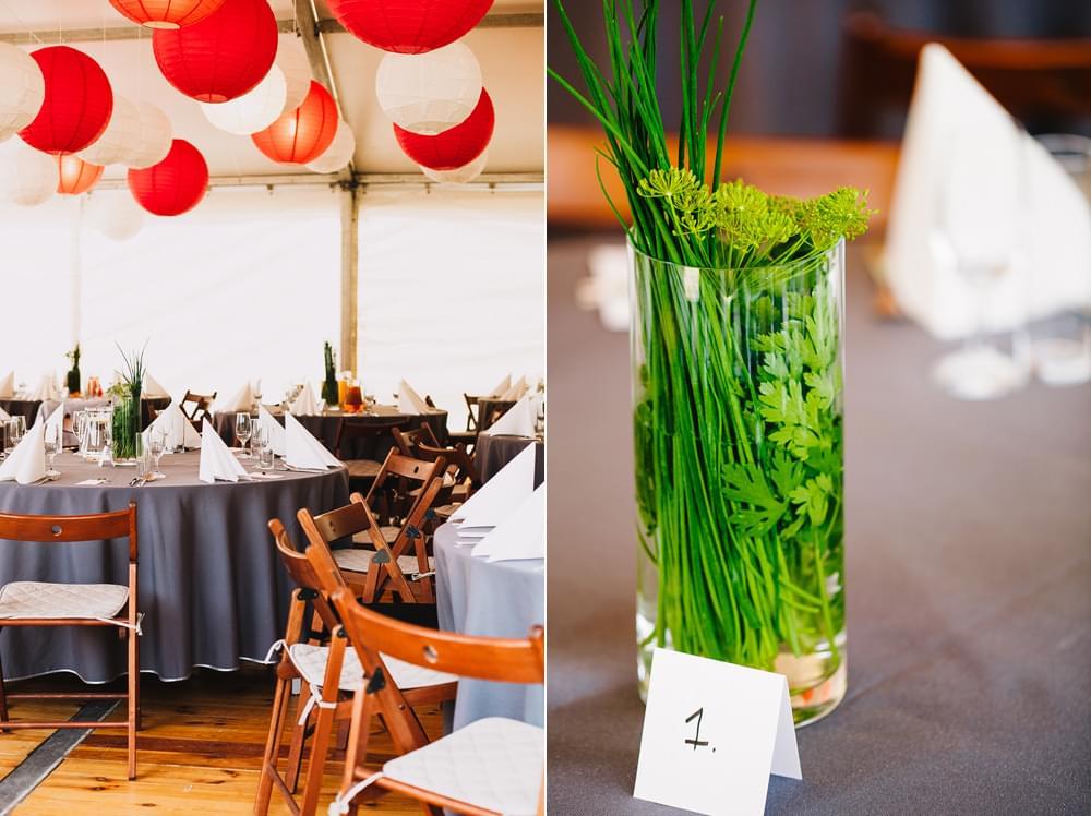 dekoracje diy stoly weselne zdjecie