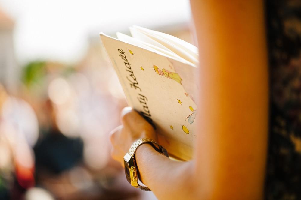 czytanie na slubie zdjecie