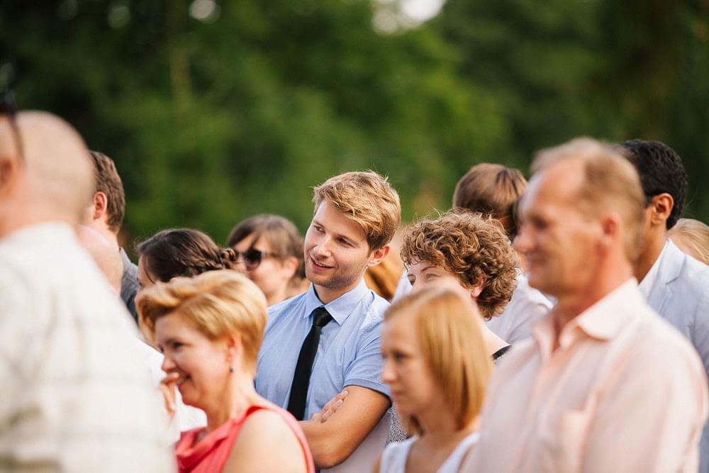 ceremonia na powietrzu slub zdjecie