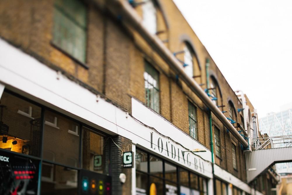 shoreditch budynek zdjecie ulicy londyn