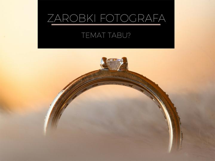 ile zarabia fotograf na ślubie