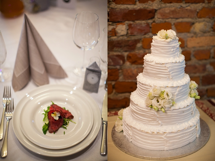 cedry wielkie wesele tort zdjęcie