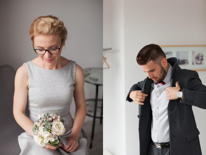suknia ślubna i garnitur ślubny z dresu risk made in warsaw