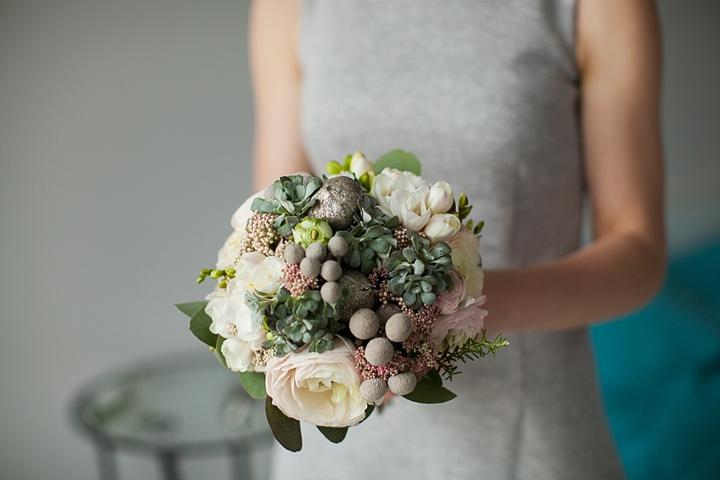 kwiaciarnia alternatywna bukiet sukulenty zdjęcie