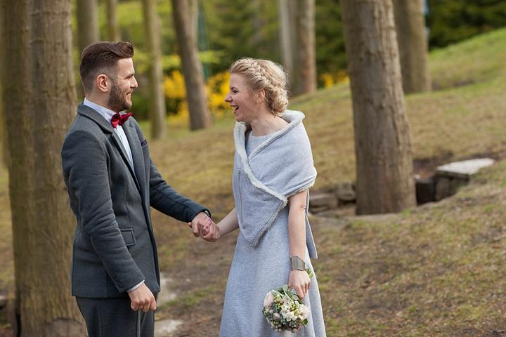 sesja w dniu ślubu gdańsk zdjęcie