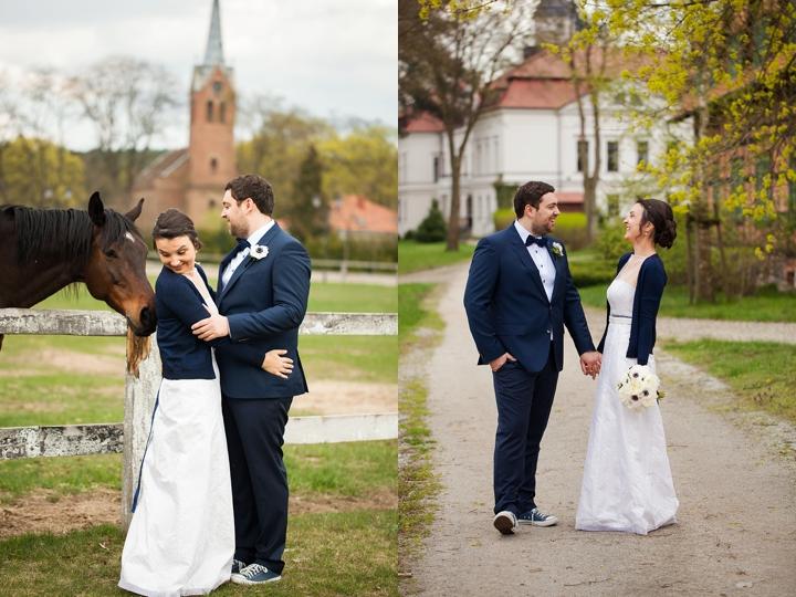 sesja w dniu ślubu zdjęcie