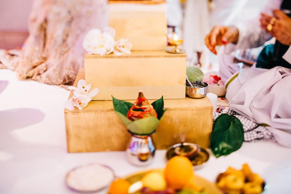 zdjecie z ceremonii slubnej hinduskie wesele