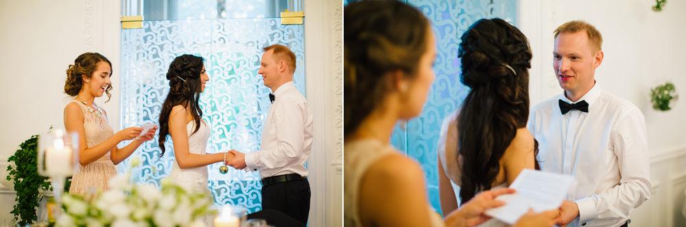 przysiega malzenska na weselu