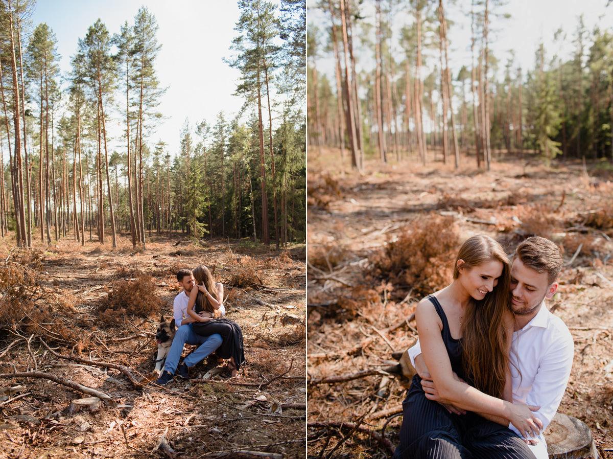 jacek siwko sesja w lesie zdjecie